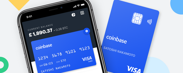 Coinbase as the main visa member