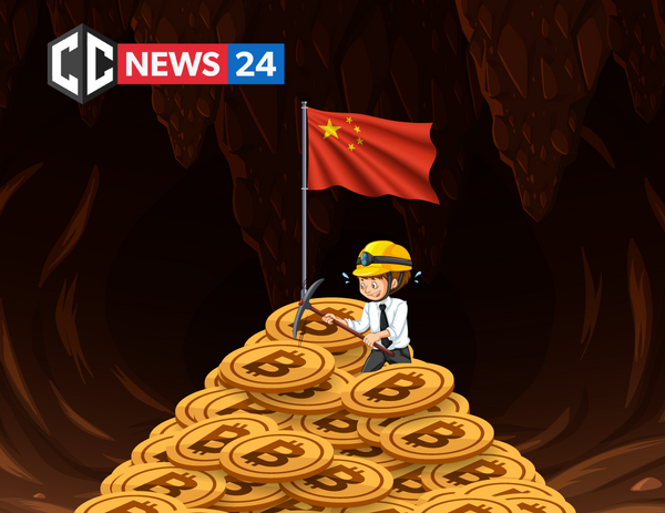 China is responsible for 50% of Bitcoin's mining, followed by the U.S. with 14% and Russia with 8%
